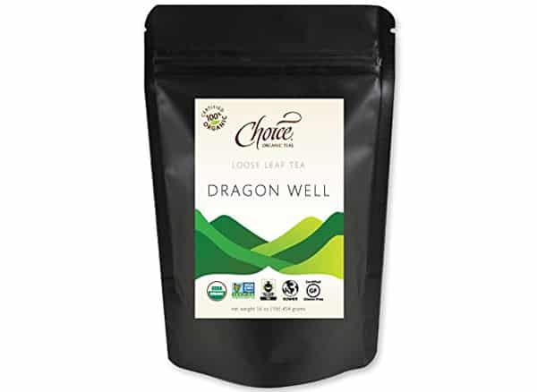 Choice Organic Teas Loose Leaf Dragonwell Green Tea
