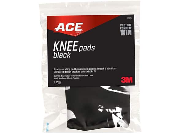 ACE Knee Pads, One Size, America's Most Trusted Brand of Braces and Supports, Money Back Satisfaction Guarantee