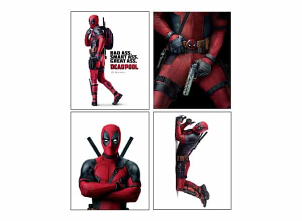 Deadpool Mini Posters Set