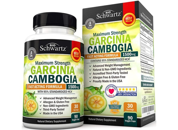Bio Schwartz Garcinia Cambogia Appetite Suppressant