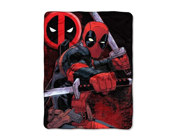 Deadpool Micro Raschel Throw Blanket