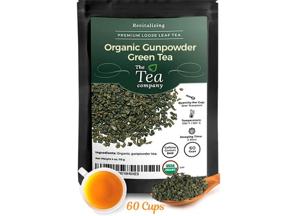 The Tea Company Organic Gunpowder Green Tea
