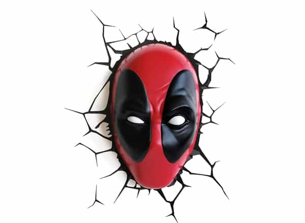 Deadpool Mask 3D Deco Light