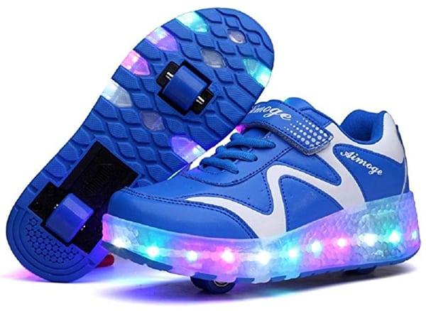 Nsasy Roller Skates Kids LED Shoes