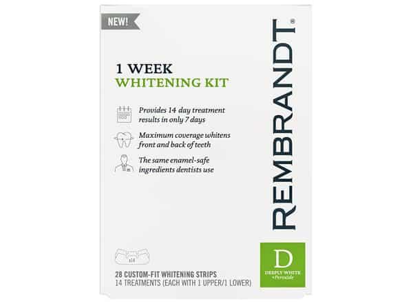 Rembrandt 1 Week Teeth Whitening Kit