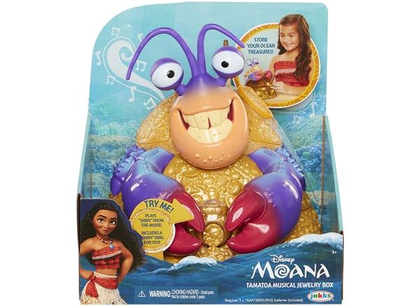 Moana Tamatoa Musical Jewelry Box