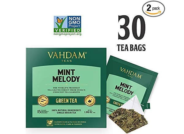 VAHDAM Mint Melody Green Tea