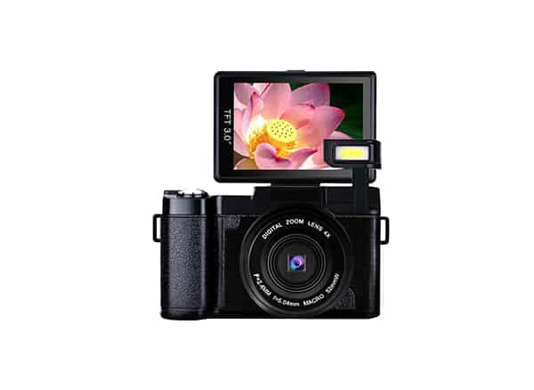 Kicteck digital and vlogging cameras