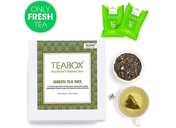 Teabox Green Tea Mix Pack