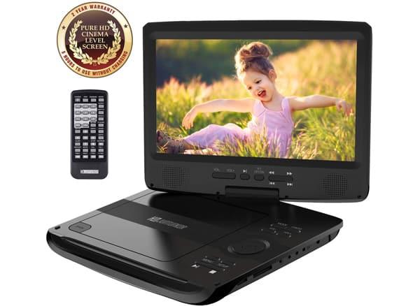 HD JUNTUNKOR Portable DVD Player
