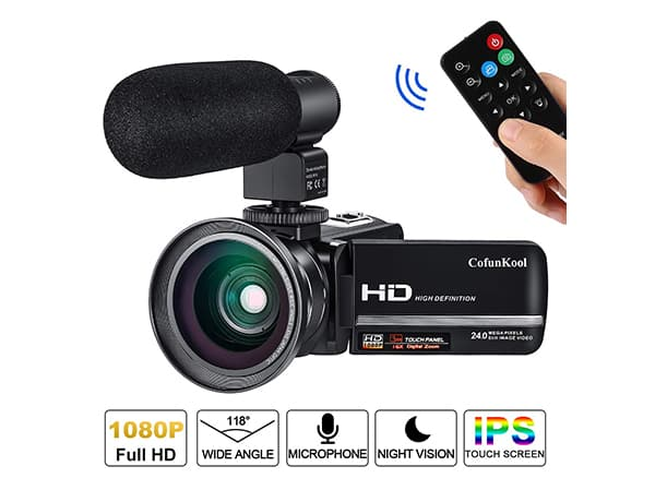CofunKool vlogging cameras