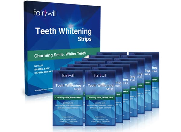 Fairywill Teeth Whitening Strips Kit