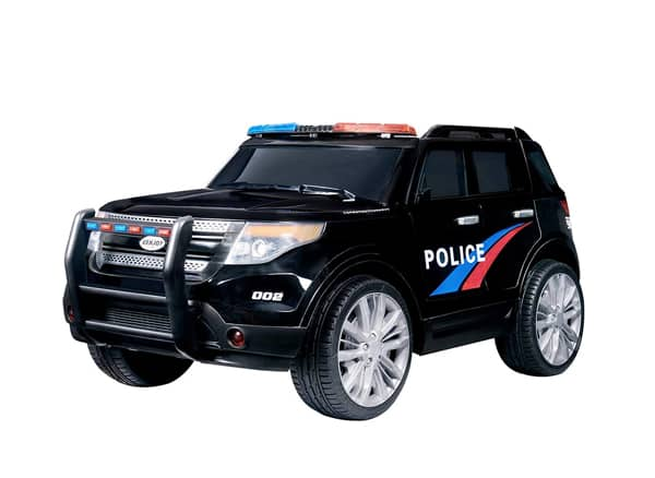 Uenjoy 12V Kids Police Ride on Car