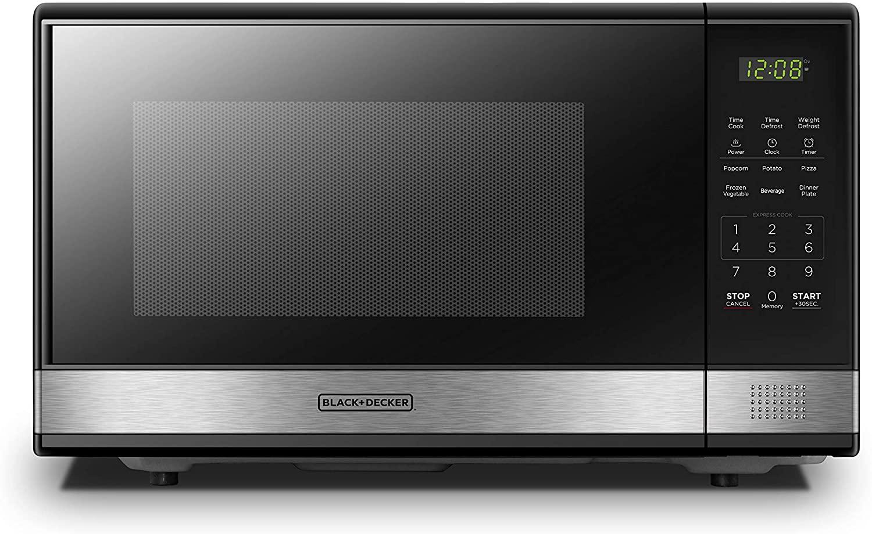 BLACK +DECKER Digital EM031MB11 Microwave Oven