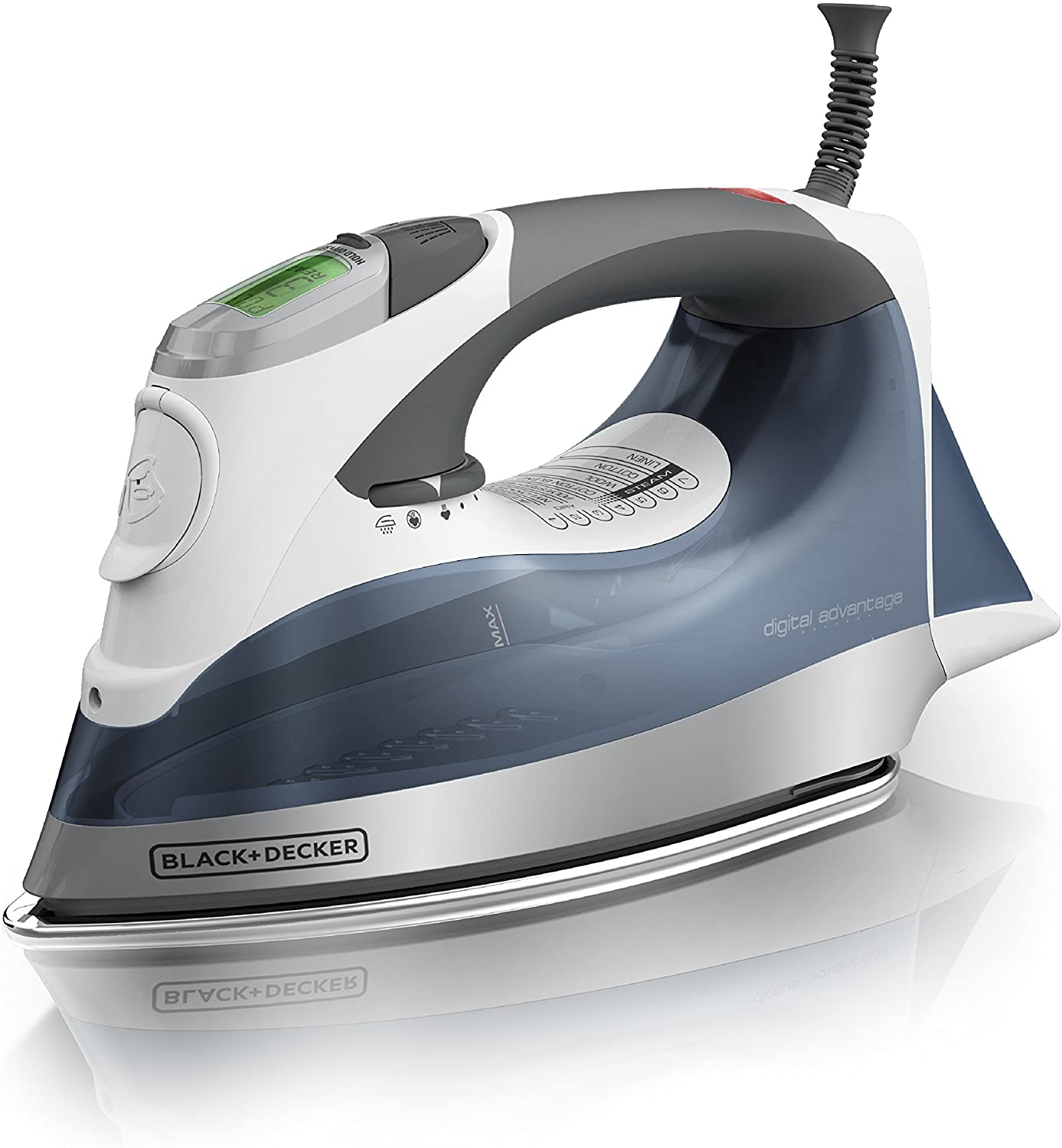 BLACK+DECKER Steam Iron, D2530