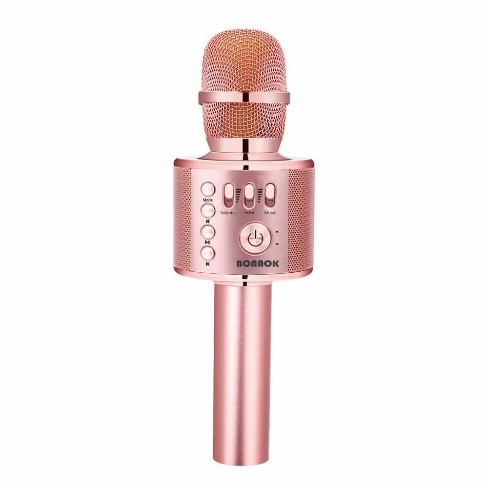 BONAOK Handheld Karaoke Mic Speaker
