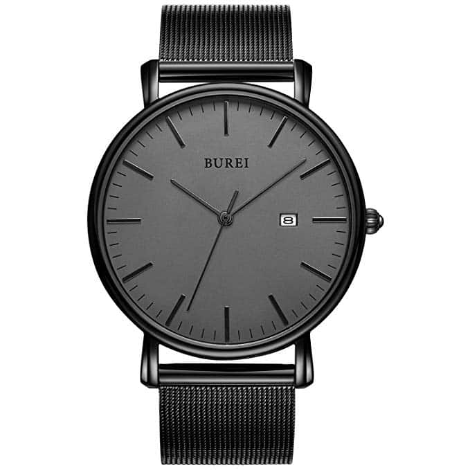 BUREI Men's Wrist Watches