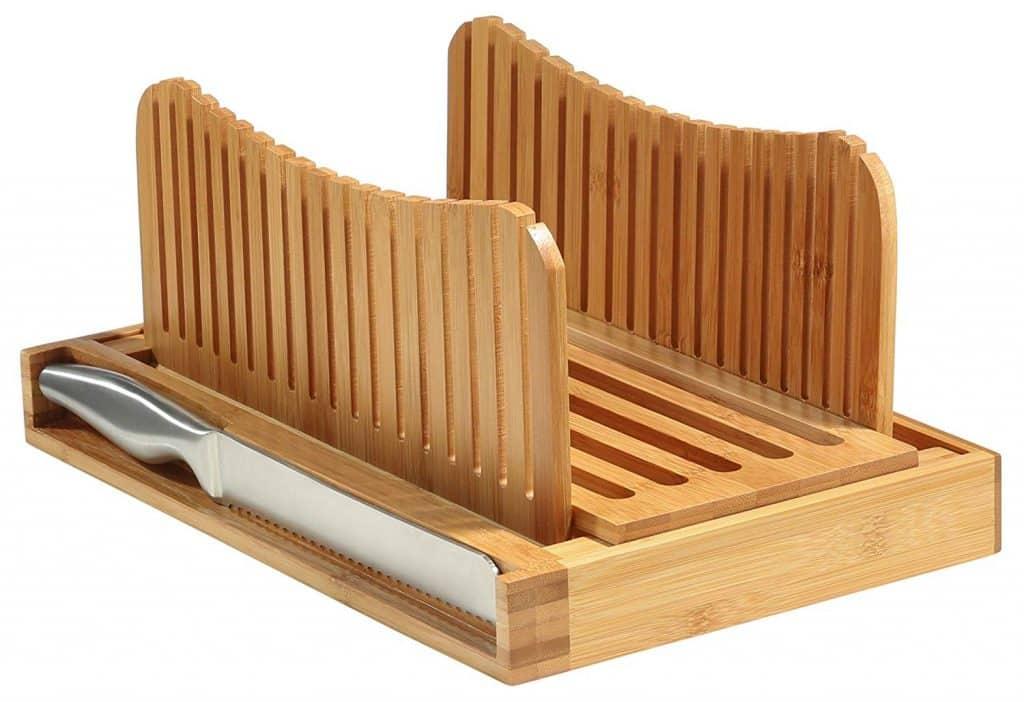 Bambüsi Bread Slicer Cutting Guide
