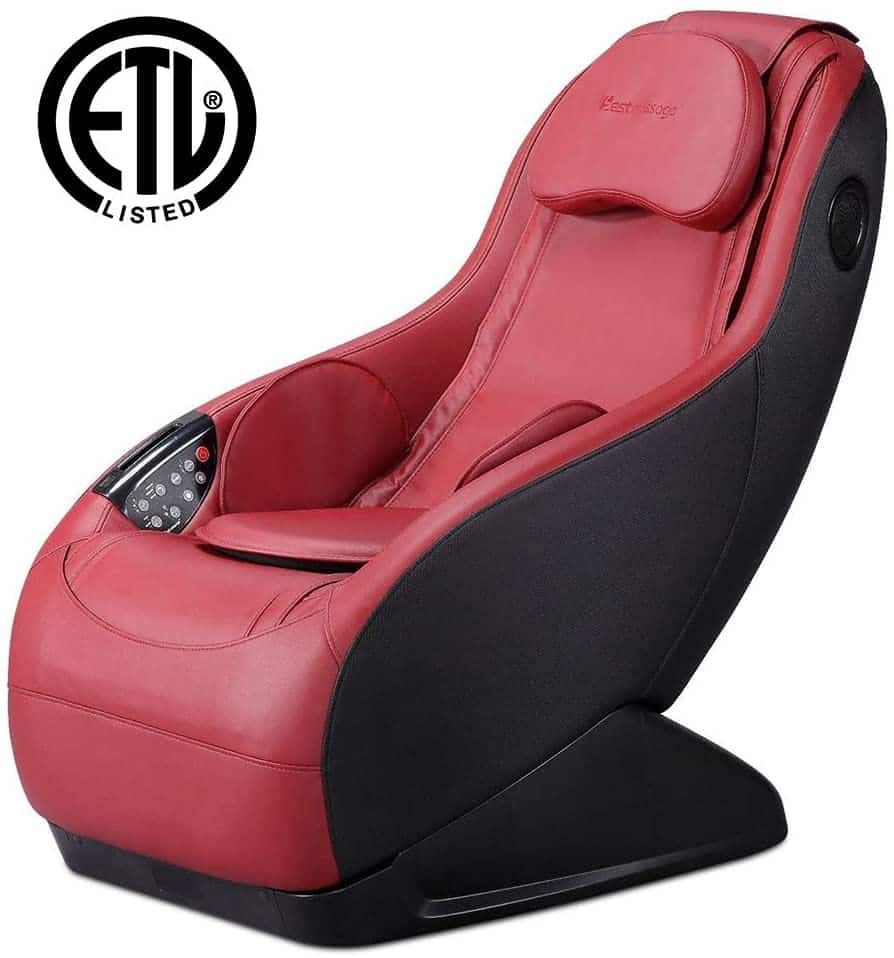 BestMassage Long Rail Shiatsu Massage Chair