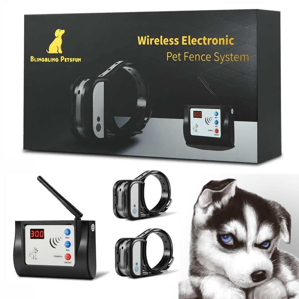 Blingbling Petsfun Electric Wireless Dog Fence System