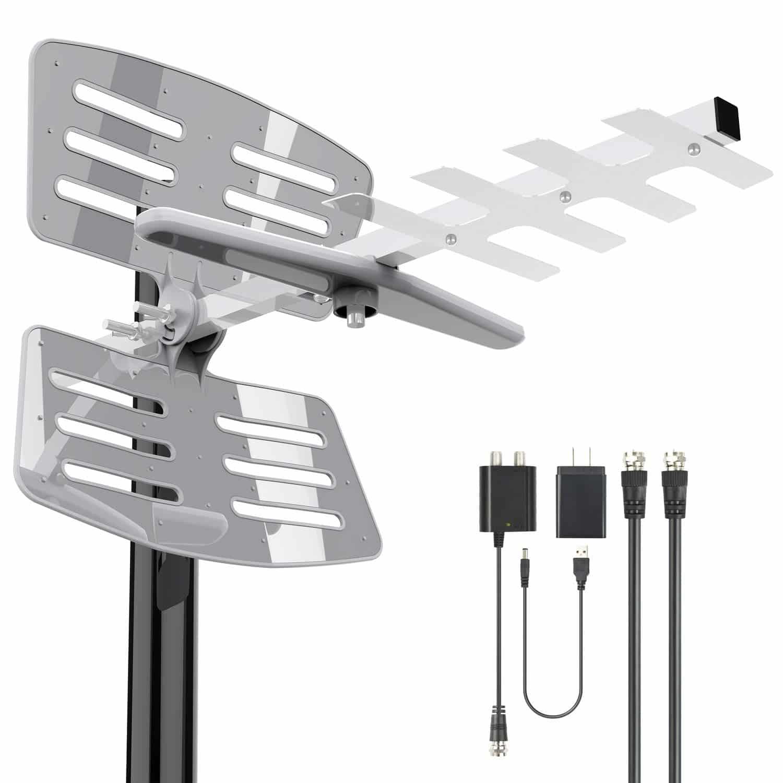 BlueTek Amplified Outdoor TV Antenna
