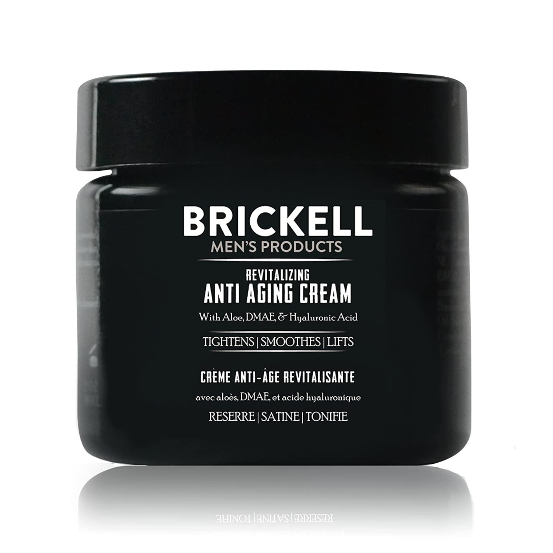 Brickell Men's Revitalizing Anti –Aging Cream for Men