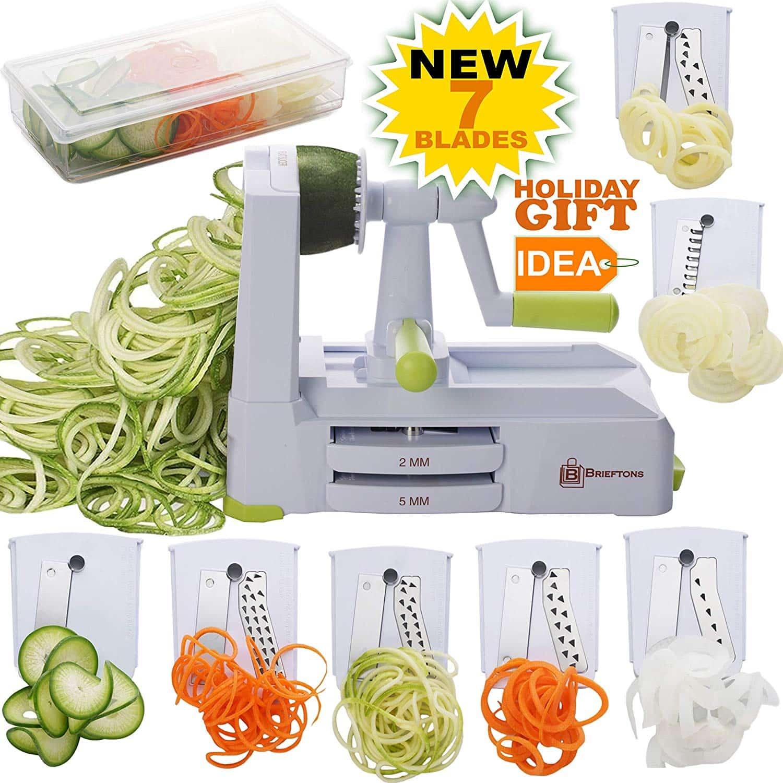 Brieftons Vegetable Spiral Shredder