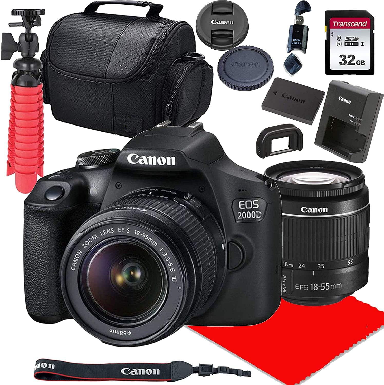 Canon EOS 2000 D DSLR Camera