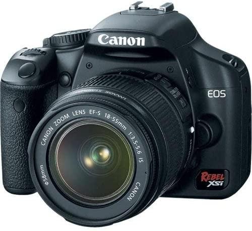 Canon Rebel XSi DSLR Camera