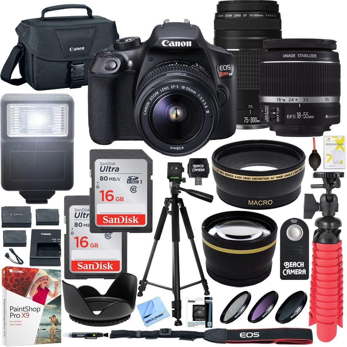 Canon T6 EOS DSLR Camera