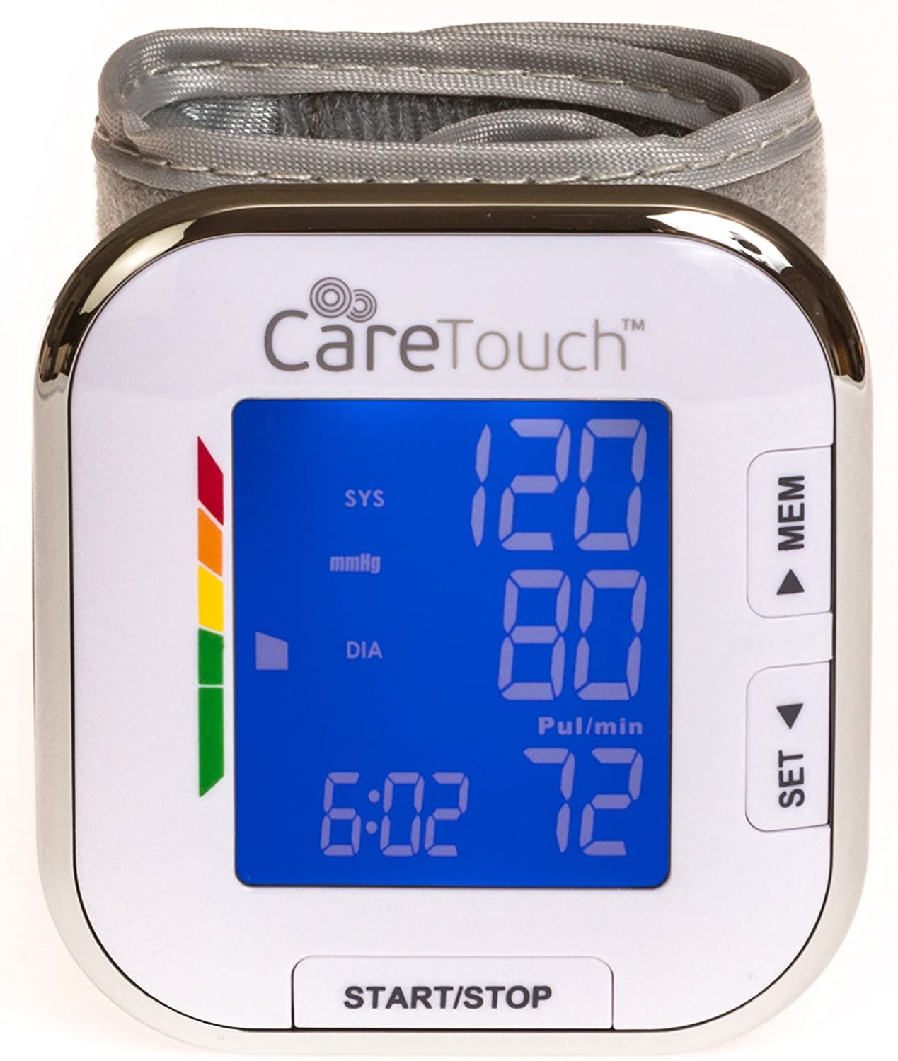 Care Touch Fully Automatic Wrist Blood Pressure Monitor