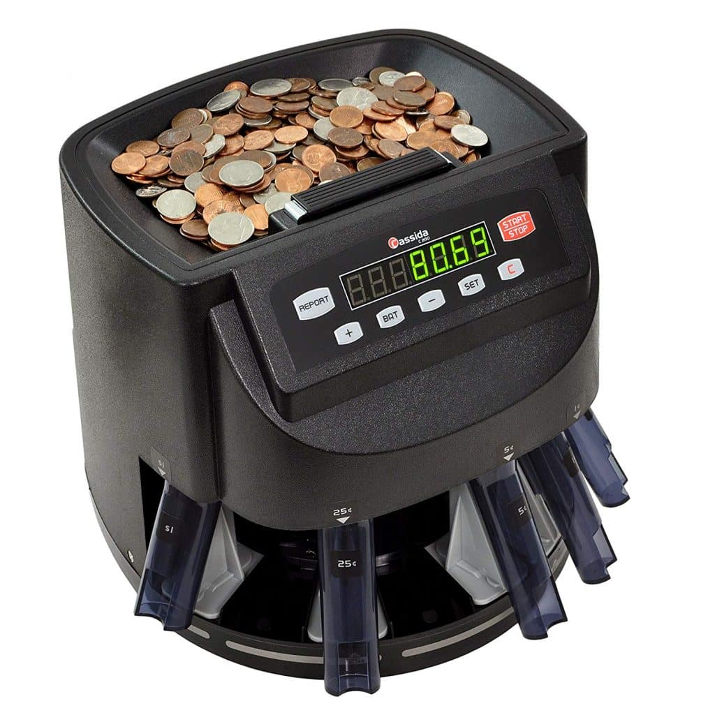 Cassida Coin Counter Machine