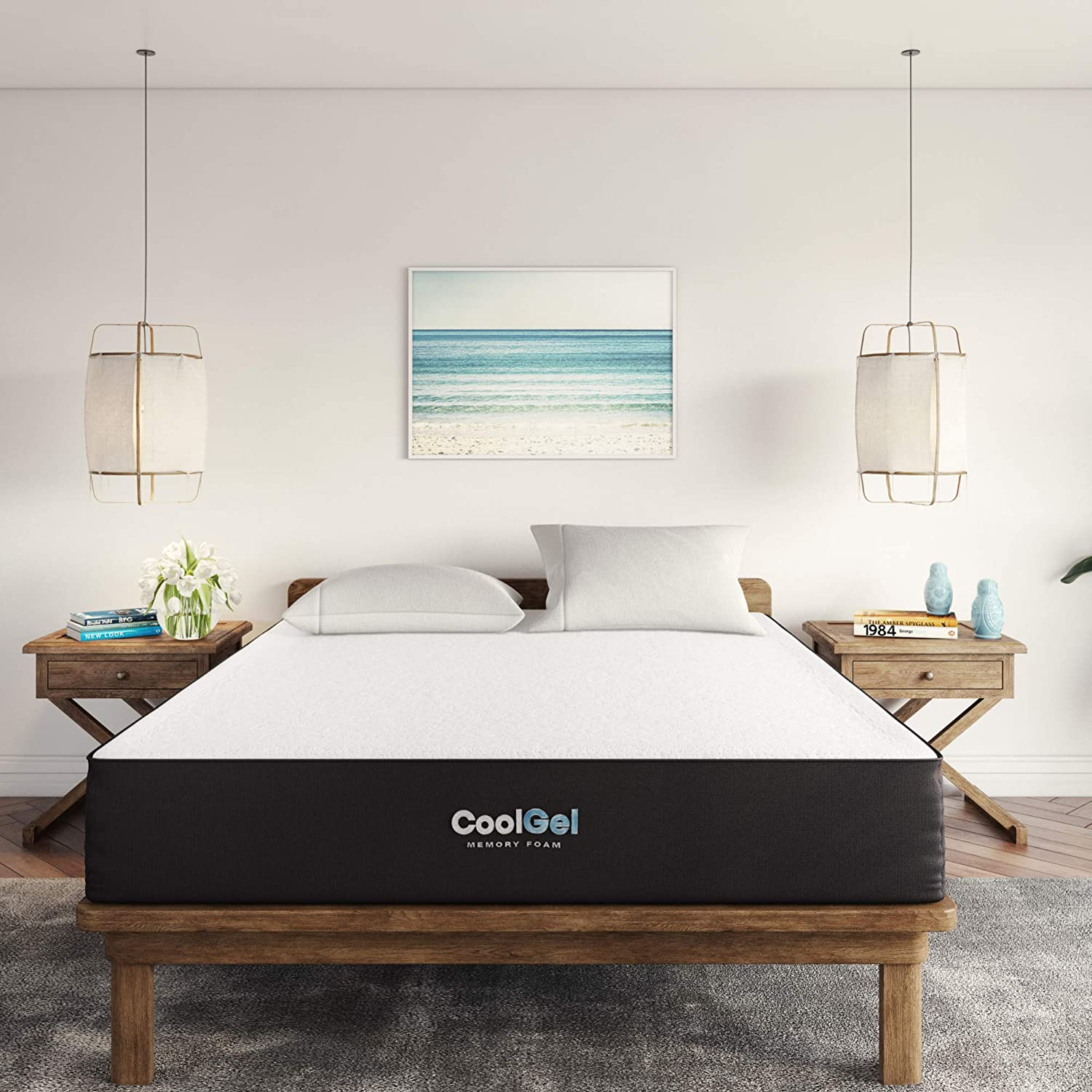 Classic Brands Cool Gel Ventilated Gel Memory Foam 10-Inch Mattress