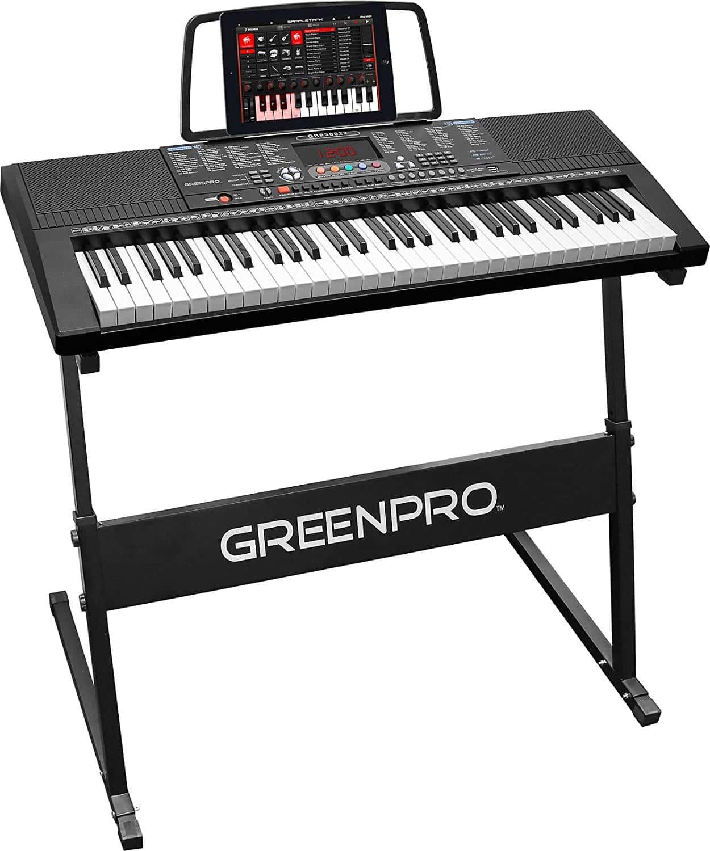 Click N' Play GreenPro Portable Electronic Piano Keyboard