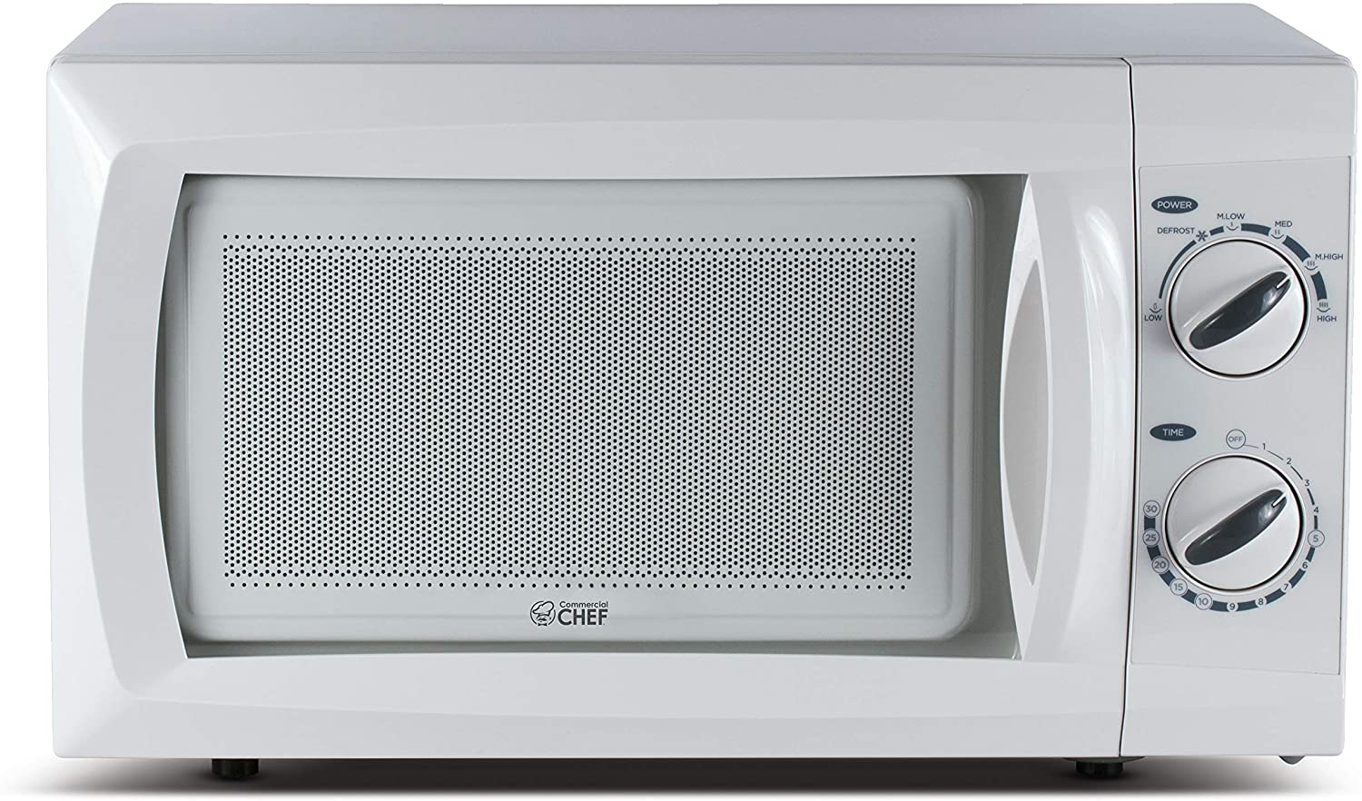 Commercial Chef CHM 660W Countertop Rotary Microwave Oven