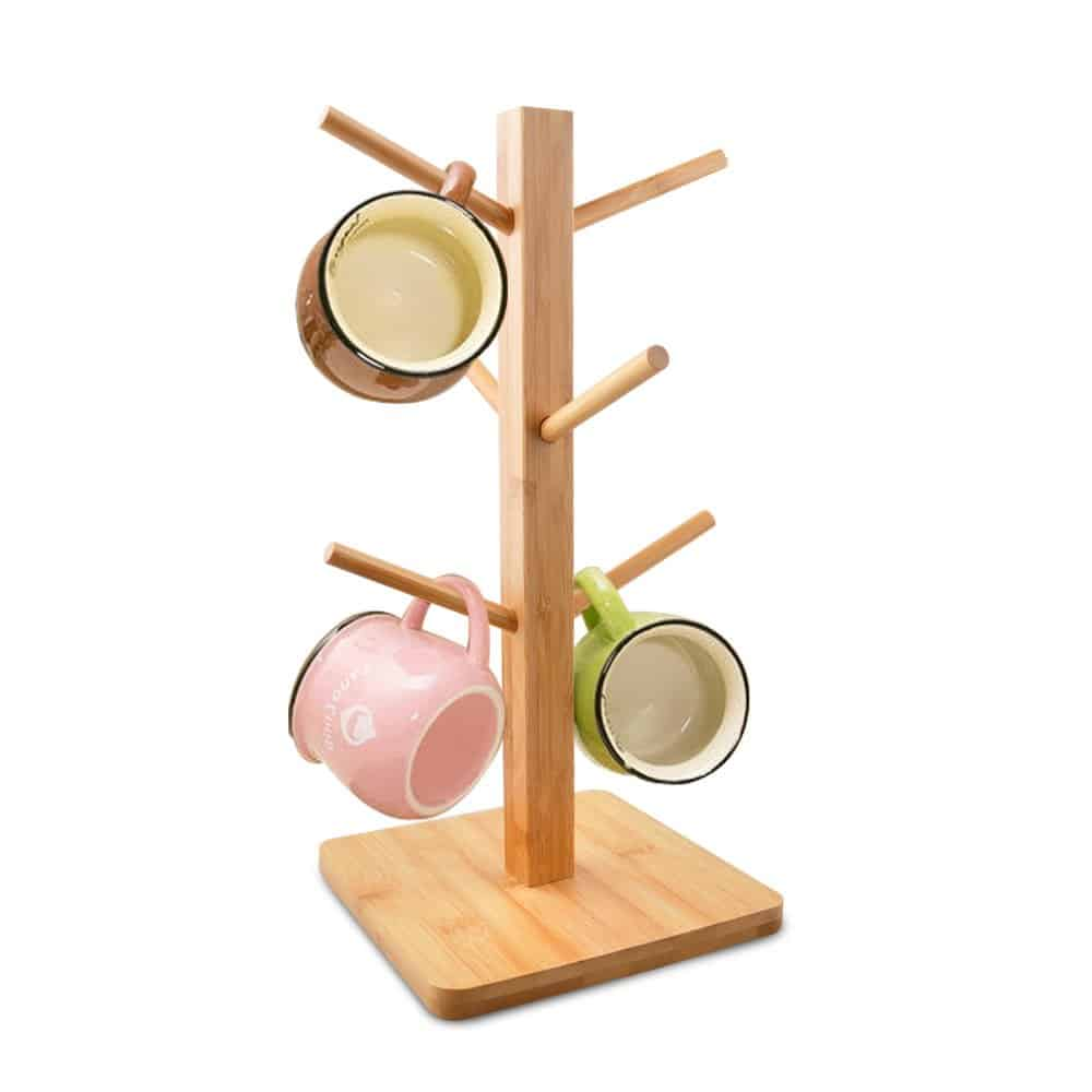 Cuteadoy Mug Rack Tree