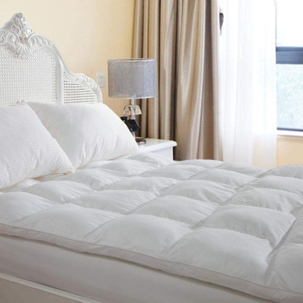 D & G the Duck and Goose CO Thick Overfilled Extra Mattress Topper