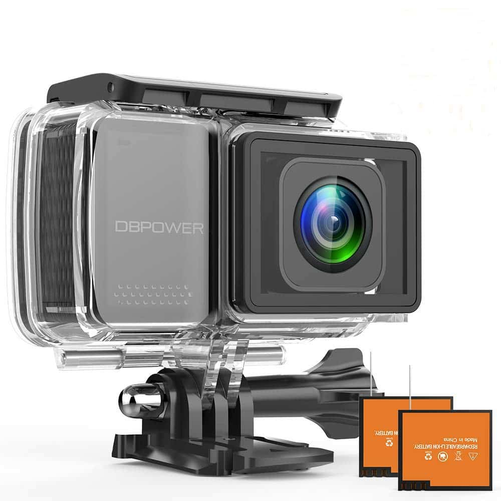 DBPOWER EX7000 PRO 4K Action Camera
