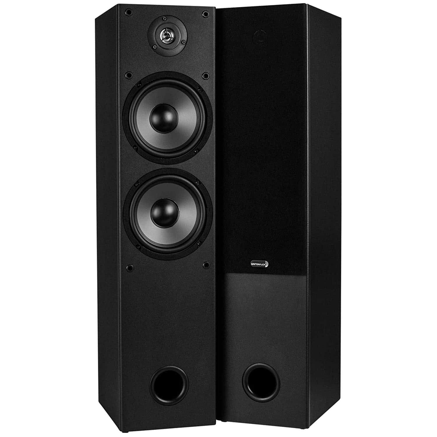 Dayton Audio T652 2-Way Tower Speaker Pair