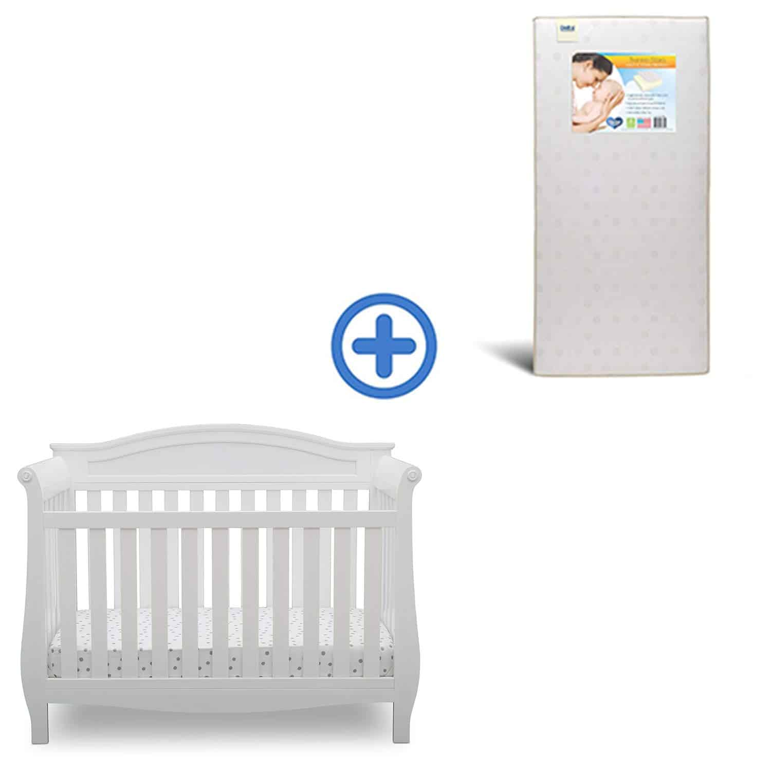 Delta Children Lancaster 4-in-1 Convertible Baby Crib
