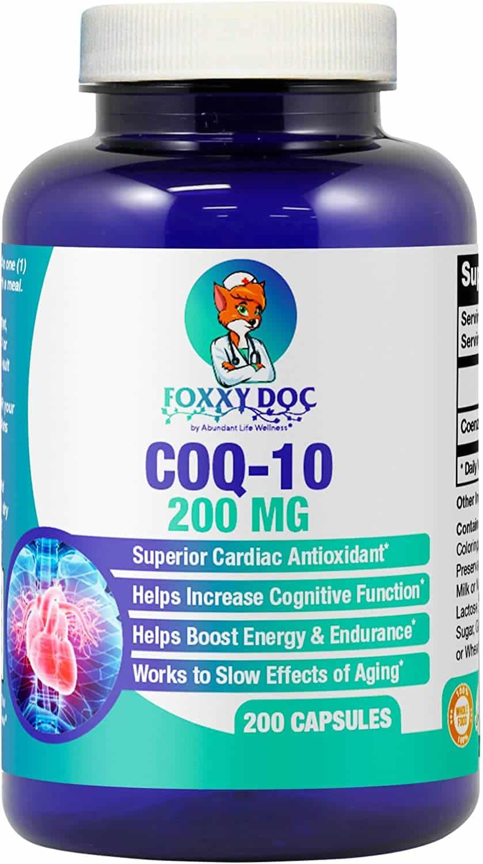 Dr Valerie Nelson CoQ10 Supplements