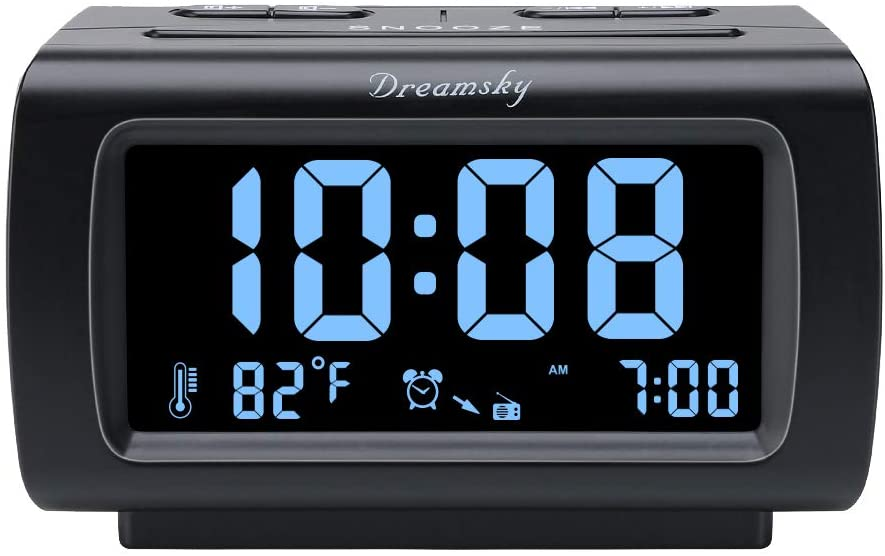 DreamSky Decent Alarm Clock with FM Radio
