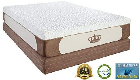 Dynasty Cool Breeze 12-Inch Memory Foam Mattress