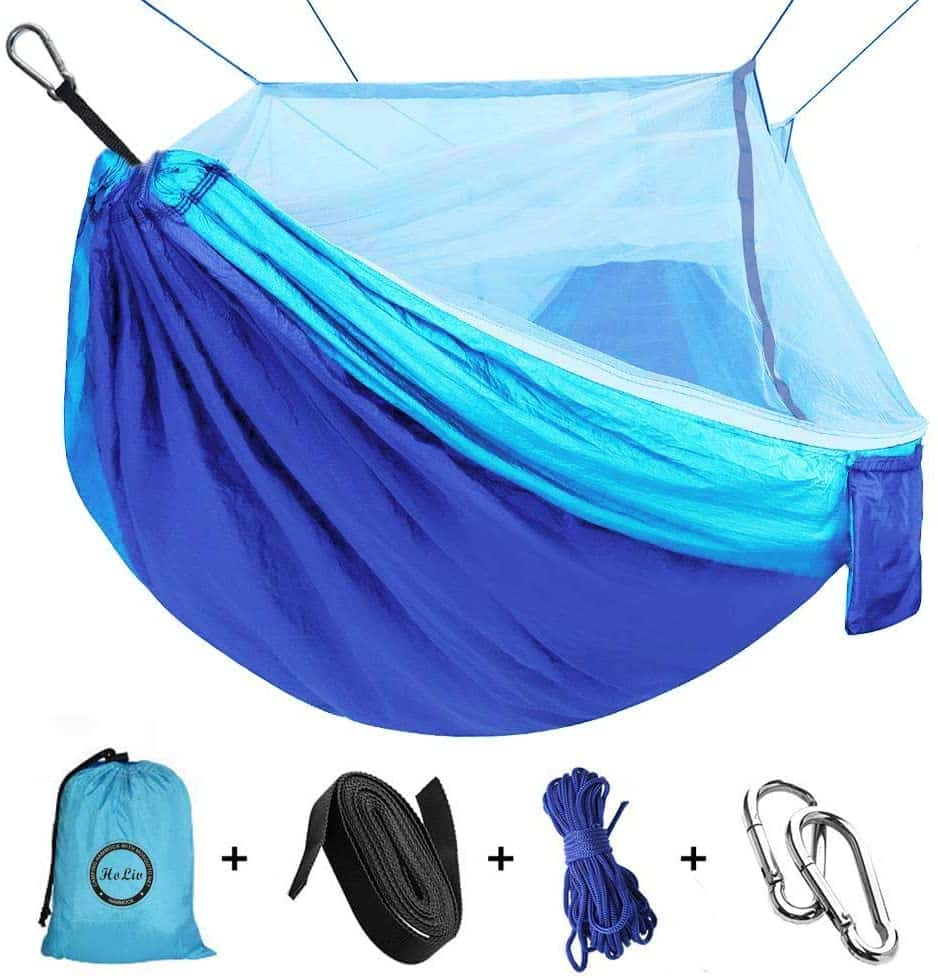 ERUW Camping Hammock with Net Mosquito