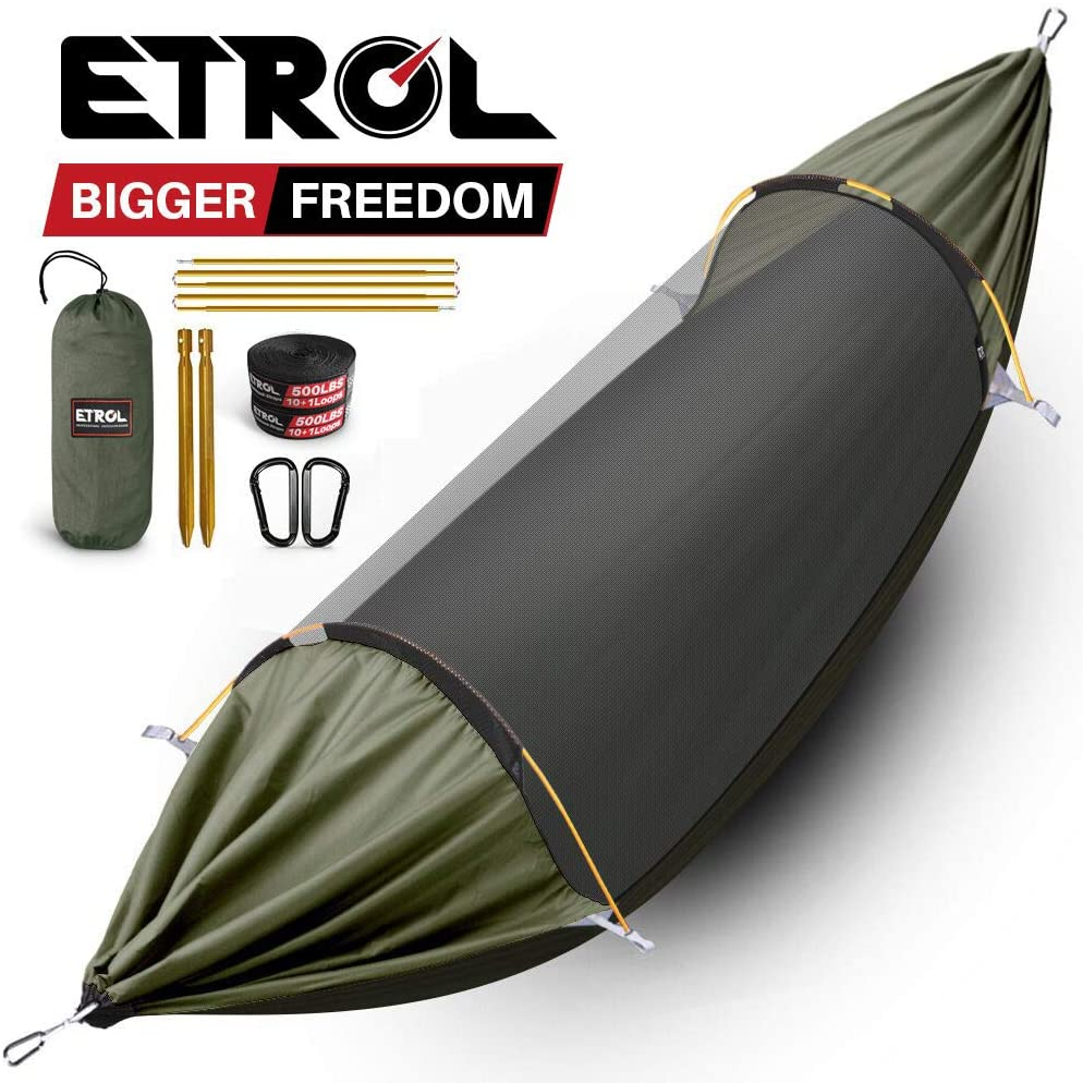 ETROL Hammock Camping Hammock with Mosquito Net