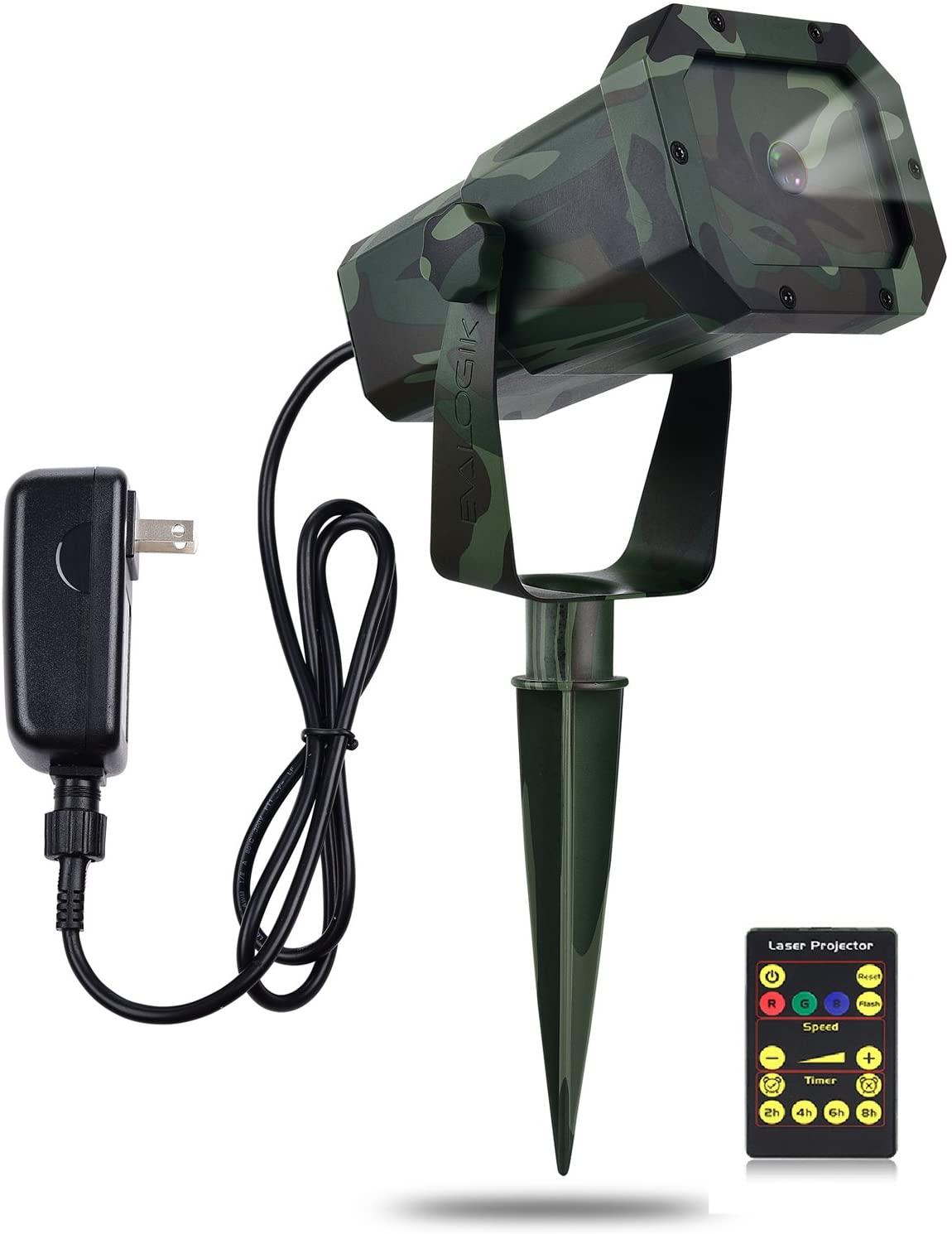 EVA LOGIK Premium Christmas Outdoor Waterproof Laser Projector Light