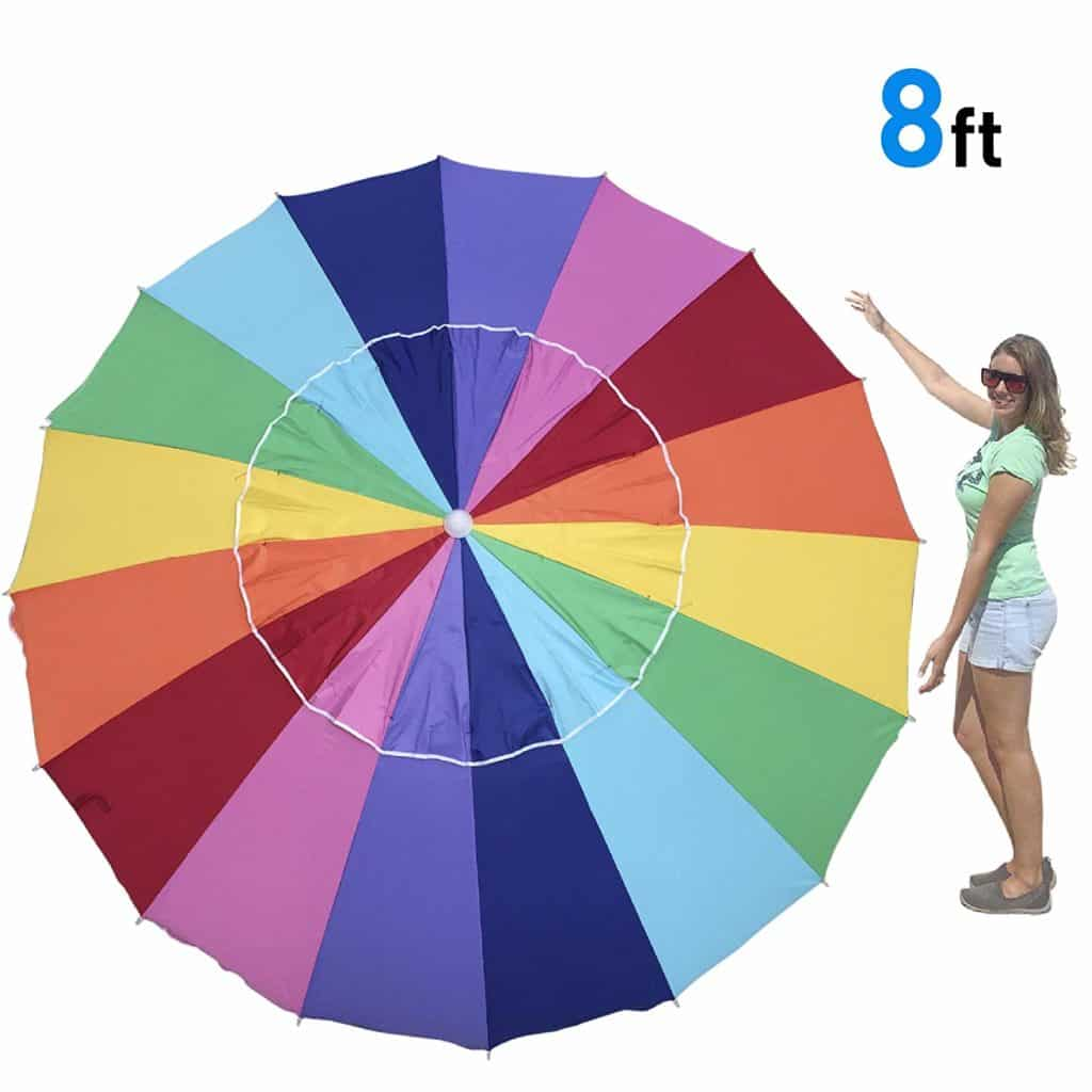 EasyGo Rainbow Beach Umbrella