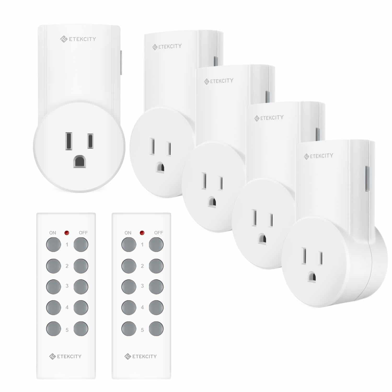 Etekcity Wireless Remote-Control Outlet Light Switch