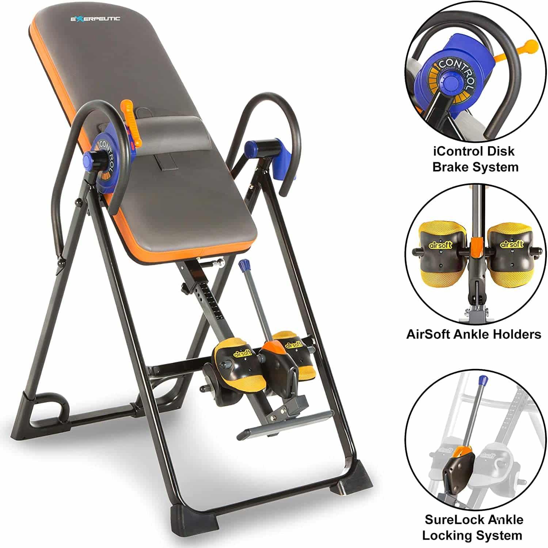 Exerpeutic 975SL All Inclusive Inversion Table