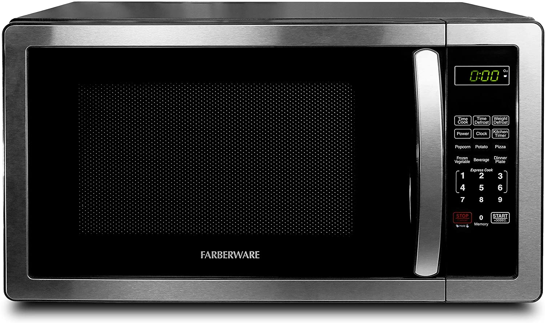 Farberware FM011AHTBKB Countertop Microwave Oven